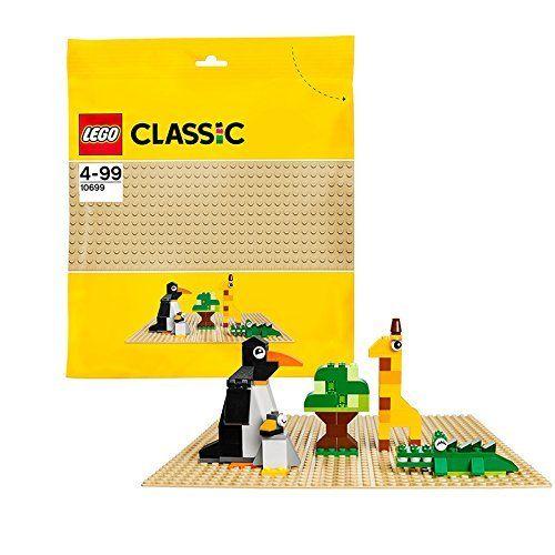 LEGO – Classic – Jeu de Construction – La Plaque de Base: Ajoute une autre pièce utile à ta collection LEGO avec cette plaque de base sable…