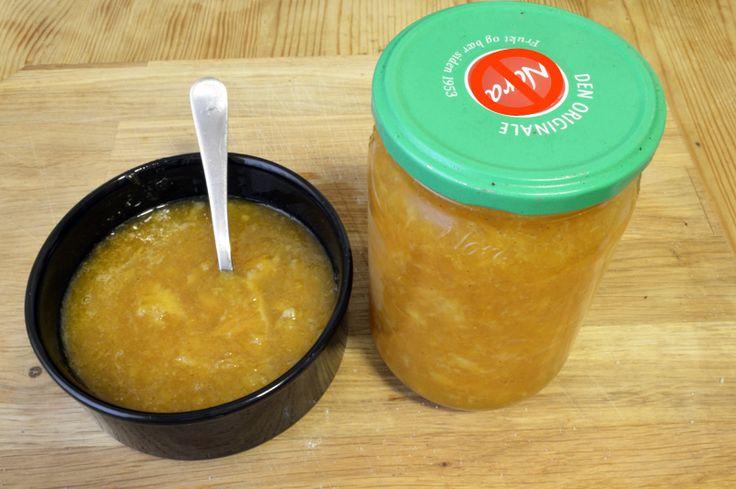 Hjemmelaget appelsinmarmelade