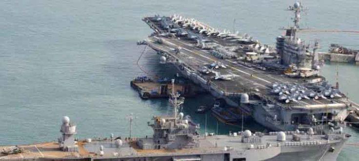 AS Kirim Kapal Induk dan 3 Kapal Perang ke Laut China Selatan