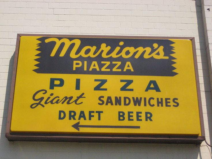 Marion's Piazza - Dayton, Ohio, locally owned and operated by Marion Glass. Best pizza EVER!!!