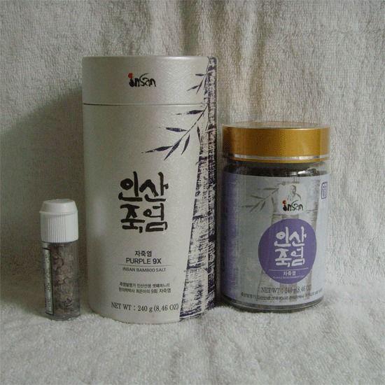 KOREANISCH Insan Lila Bambussalz (Particle : 240g) / Food-Medizin   !!