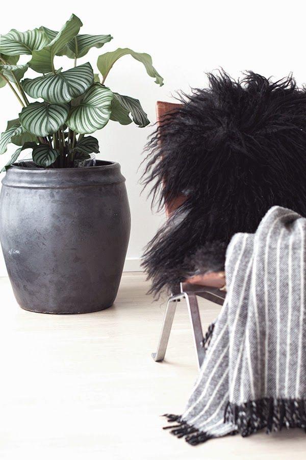 www.thewhitebox.no  Scandinavian interior design. PK22 chair. Tine K Home plant pot.