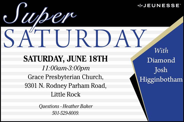Join us be my guest today at 11AM for the excitement and fun Jeunesse Super Saturday! Meet Jeunesse Diamond Director Josh Higginbotham