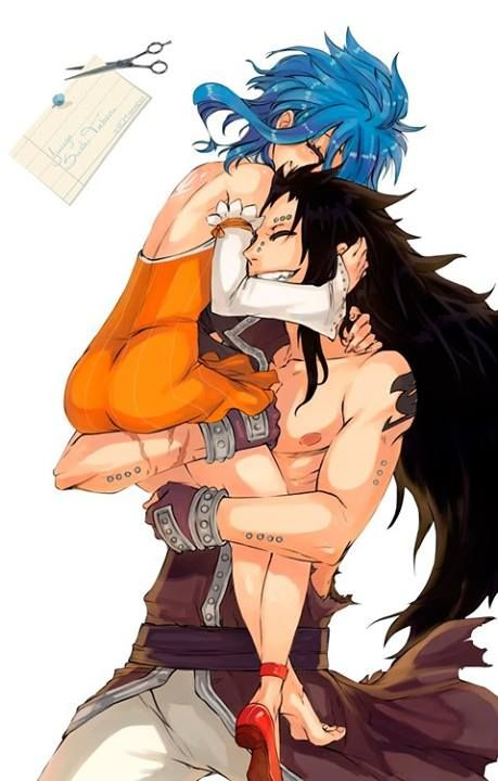Gajeel Redfox & Levy McGarden(GaLe) - Fairy Tail Anime