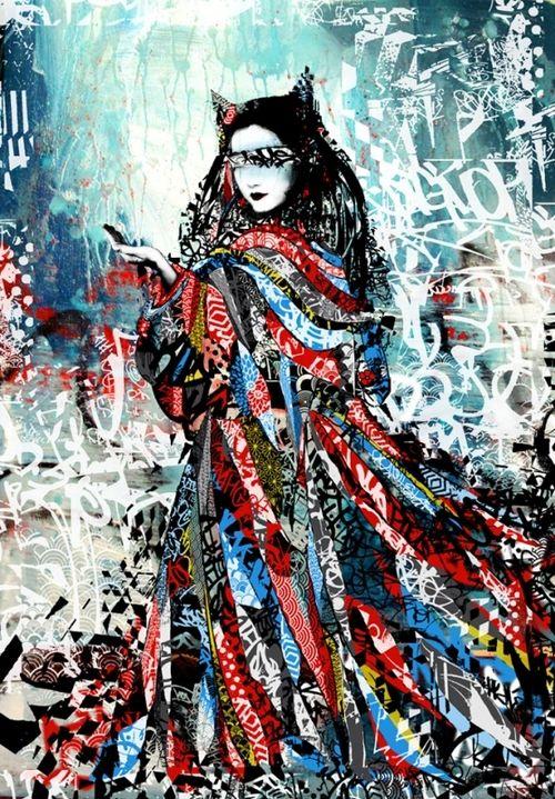 HUSH. #hush http://www.widewalls.ch/artist/hush/ #streetart jd