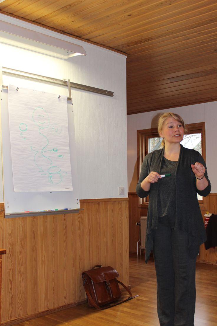 Föreläsning - mage, tarm och lever- på vår hälsoresa till Åland april 2014.