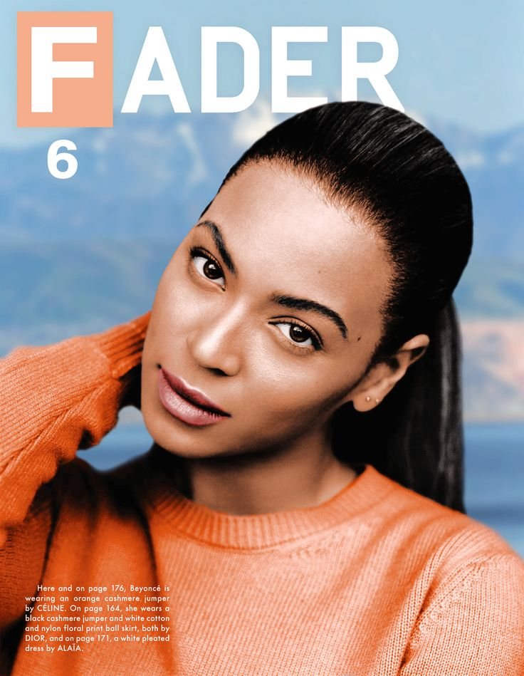 Beyoncé for FADER Magazine