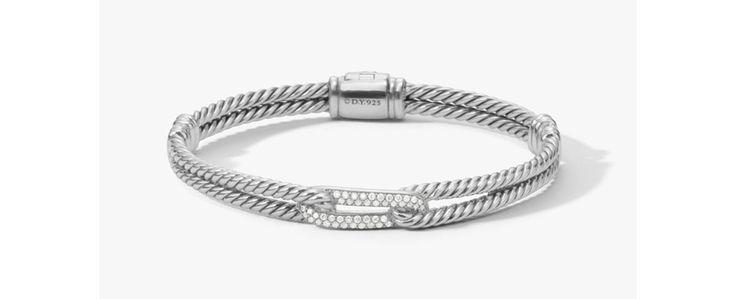 David Yurman bracelet Labyrinth Petite Pavé diamants http://www.vogue.fr/vogue-hommes/mode/diaporama/bracelets-joncs-homme-diamants-ultra-fins/20833/image/1107381#!david-yurman-bracelet-labyrinth-petite-pave-diamants