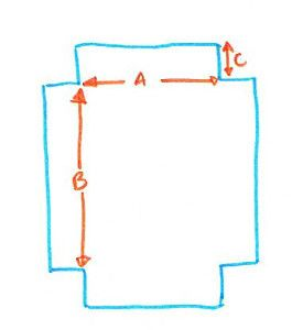 The easiest instructions to make your own fitted bed sheet from either a flat sheet or fabric!