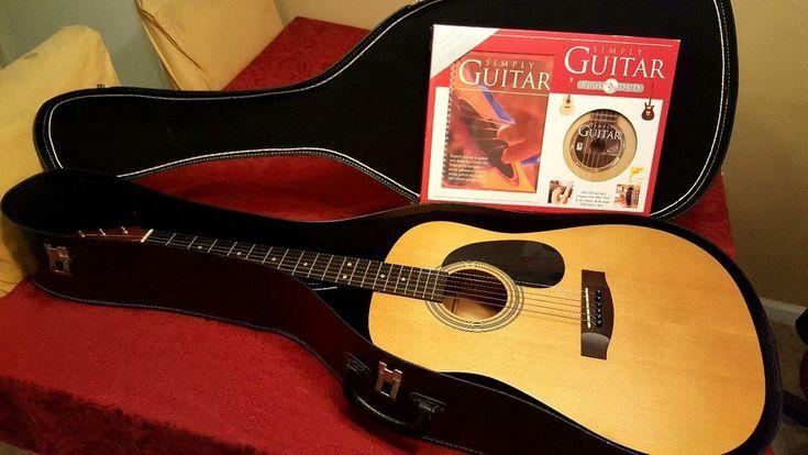 takamine jasmine dreadnought s35 acoustic guitar with case and training program random ebay. Black Bedroom Furniture Sets. Home Design Ideas