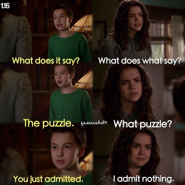 The fosters! I love the sibling relationship they have! So adorable!