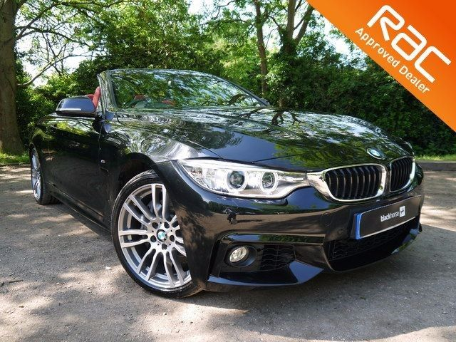 BMW 435i M SPORT for sale in Hitchin Hertfordshire, 3.0 Petrol, Manual, 15,016 miles, sapphire black, 2 doors, 1 owner at Master Cars Hitchin for £29,995.