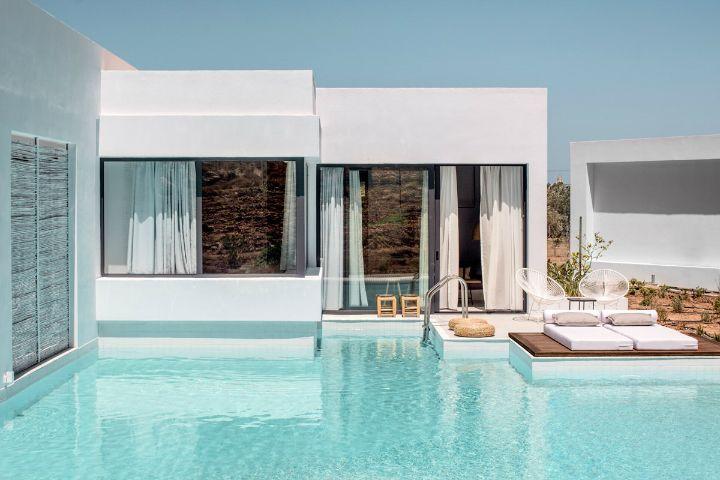 bohemian hotel design on greek island of Rhodes 24