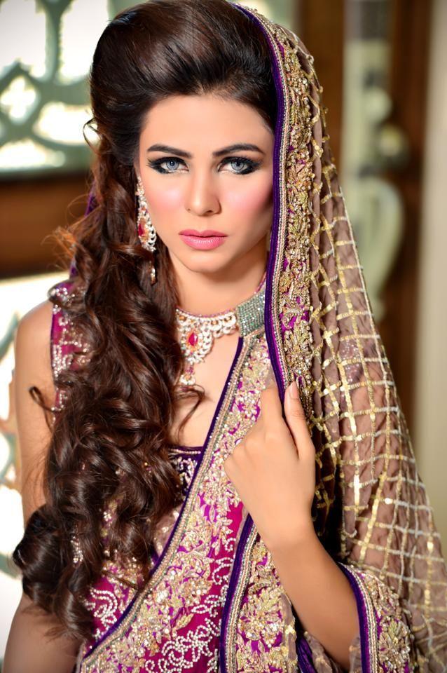Latest Pakistani Bridal Wedding Hairstyles 2016-2017