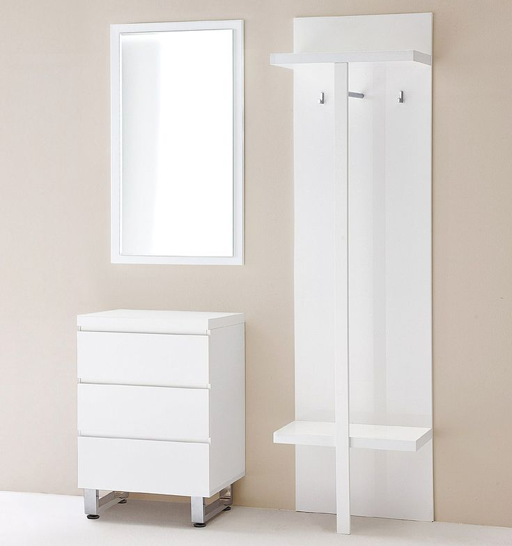 e-combuy Angebote Garderoben-Set 3tlg »FLOYD« in Hochglanz weiß lackiert: Category: Garderoben-Sets Item number:…%#Quickberater%