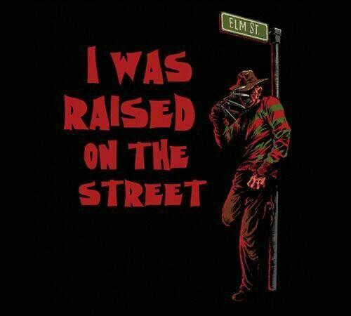 Freddy Krueger raised on the street