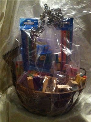 For her Bat Mitzvah, JChoice member ABbatmitzvah is raising money for Jewish Vocational Service through the raffle of a Craft Basket.