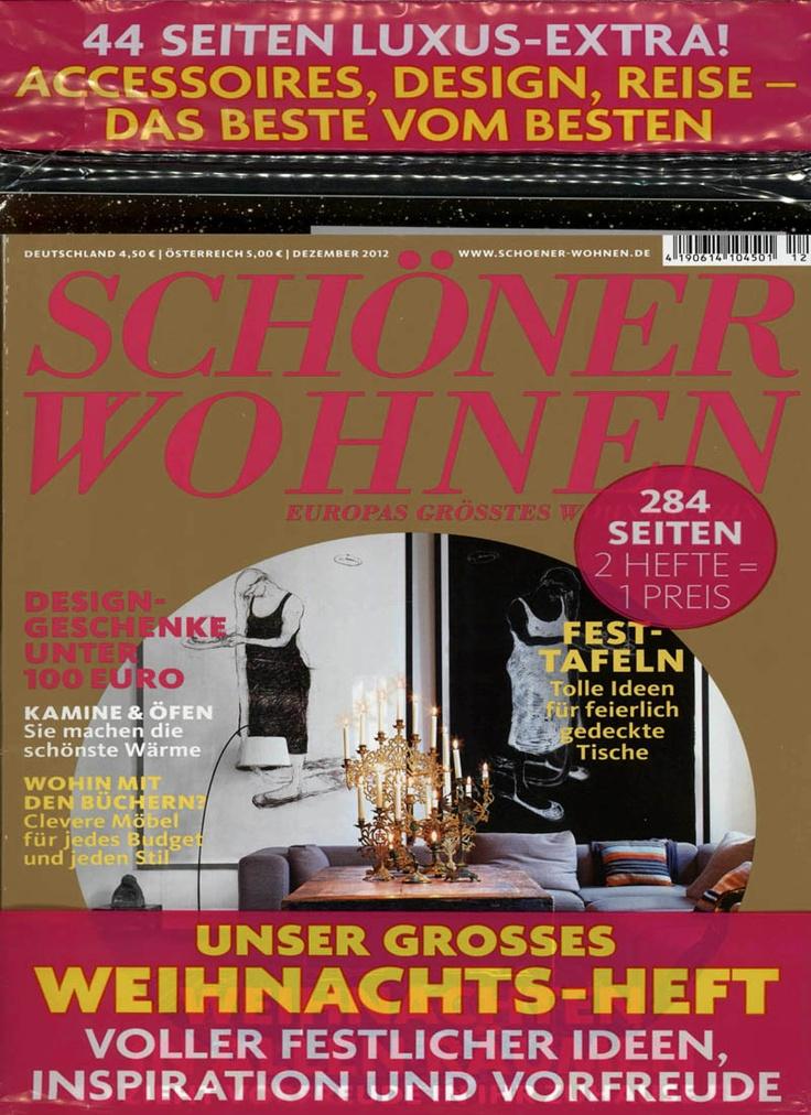SCHÖNER WOHNEN Heft 12/2012