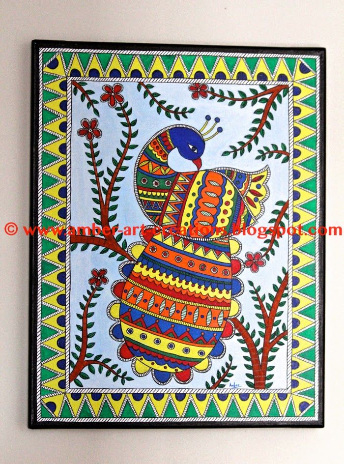 1976 best images about indian folk art on pinterest for Folk art craft paint