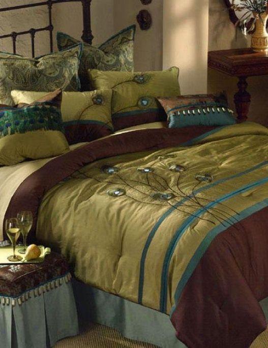 Peacock Comforter Set Queen For Sale 41179143384 Rasha