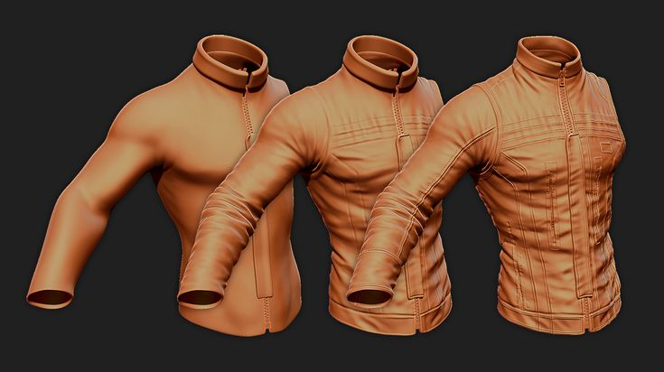 // Create believable fabric folds in ZBrush by Gavin Goulden