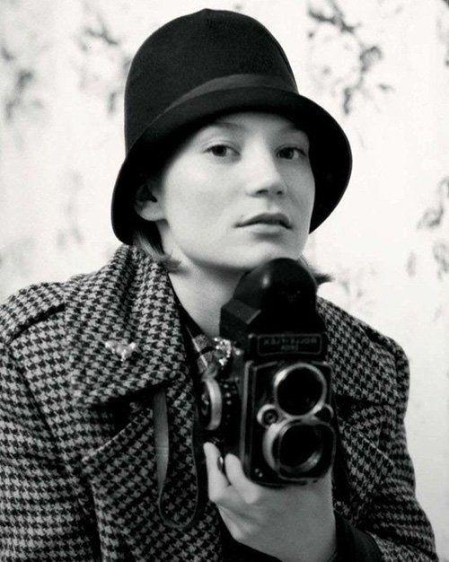 Mia Wasikowska. British Vogue. September 2012.