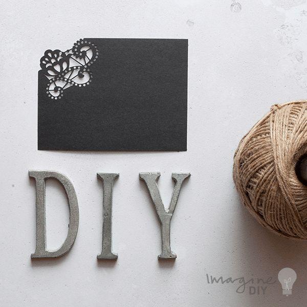 Blank laser cut RSVP in black. DIy wedding stationery supplies. Blank laser cut wedding stationery and invitations. DIY wedding stationery supplies UK