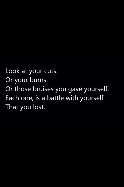 suicide quotes cuts | depression suicide anxiety fat self harm cutting stay strong cuts ...