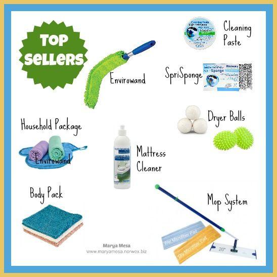 Norwex top sellers www.maryamesa.norwex.biz