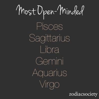 Everyone should be open-minded!!! It's such a great and attractive trait that shows something on a different level no matter who you are.
