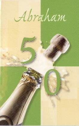 verjaardagskaart abraham 50 jaar
