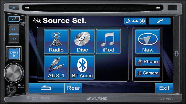 Car #Audio #Sevilla Monitor de control de sistemas #multimedia 2 DIN