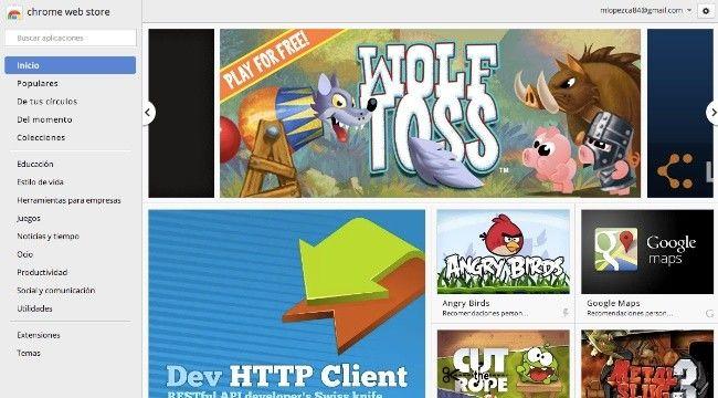 La Chrome Web Store alojará aplicaciones compatibles con casi todos los sistemas operativos  http://www.genbeta.com/p/75305