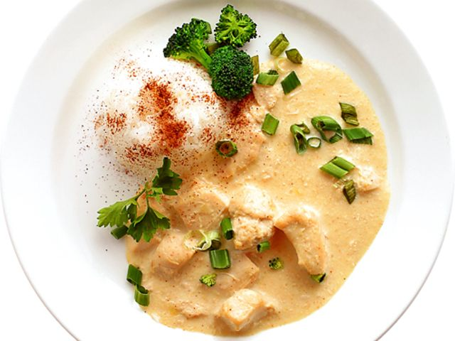 Thai kycklinggryta med kokosmjölk (kock recept.nu)