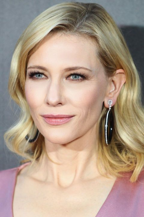 We love Cate Blanchett's rosy glow, which matched her pink dress and lipstick: