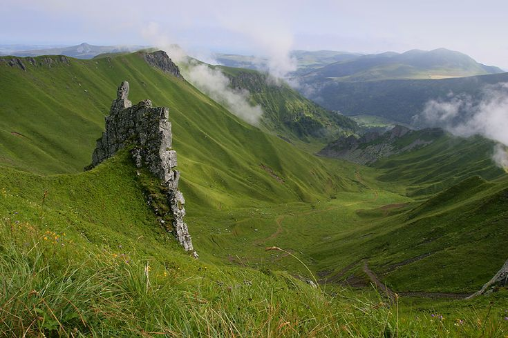 Le Puy De Sancy , Auvergne France