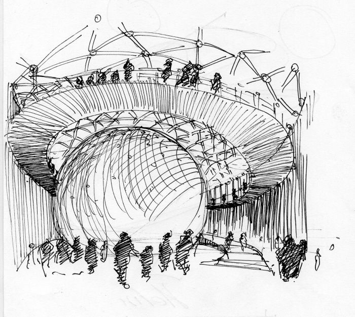 Best Arch Handsketch Images On Pinterest Architecture