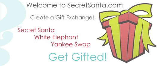 This is a great site for organizing a Secret Santa gift exchange!!!
