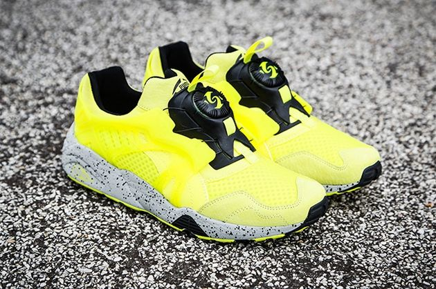Puma Disc Blaze – Yellow / Black