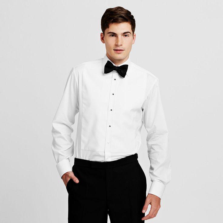 25 best tuxedo style silhouette images on pinterest for Best slim fit tuxedo shirt