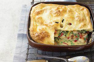 Gram's chicken pot pie- Kraft recipe