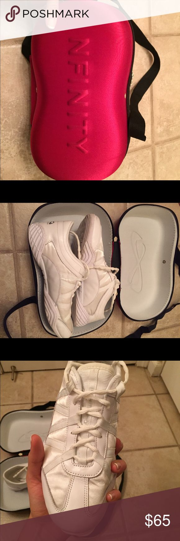 Nfinity Evolution Cheerleading Shoes Nfinity Evolution's: Worn only one time, amazing condition, size 10.5 women's, will come in box they came in. Shoes Sneakers