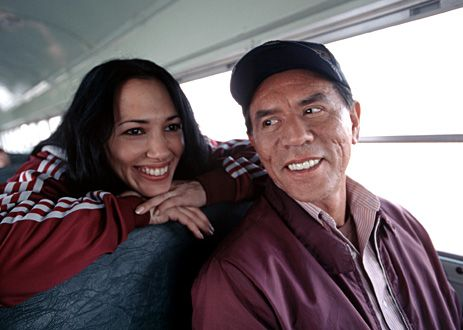 Irene Bedard and Wes Studi...acting is only one aspect of their lives. Music is their passion and I enjoy it everytime I get the chance to hear them with their respective bands.