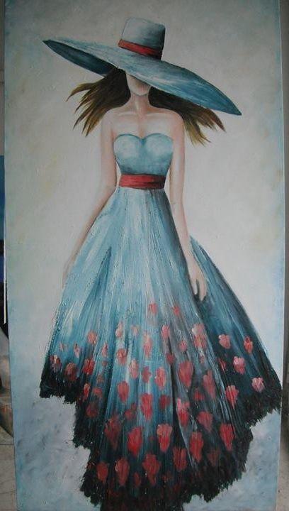 Tuval üzerine yağlı boya