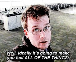 How will you feel if you meet John Green? Happy, Excited Or Awesome... ALL OF THE THINGS