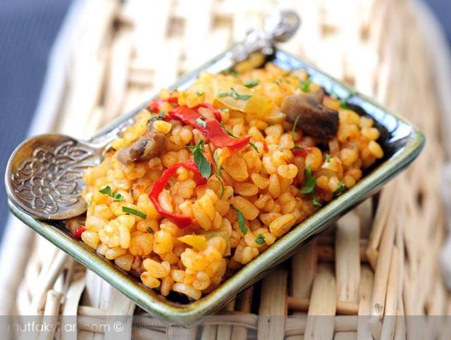 Mantarlı Bulgur Pilavı Tarifi | Mutfak Sırları