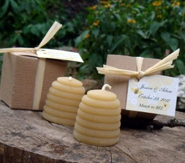 Beeswax Candles for Baby Showers - Mommy to BEE