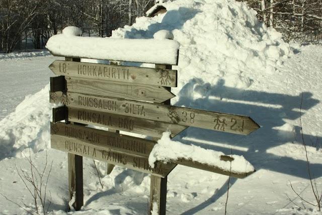 Turku archipelago on winter time