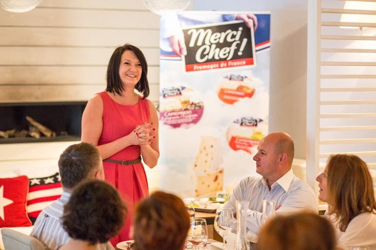 Zgromadzonych gości przywitała Marta Hycnar Managing Director agencji HarmoniquePR zajmującej się organizacją eventu.