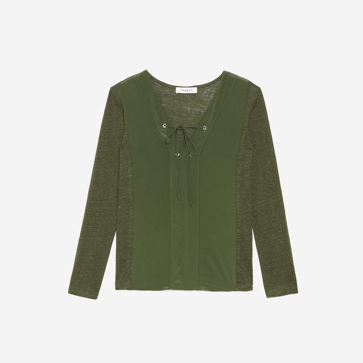 T-Shirt Tina - T-shirts - Sandro-paris.com